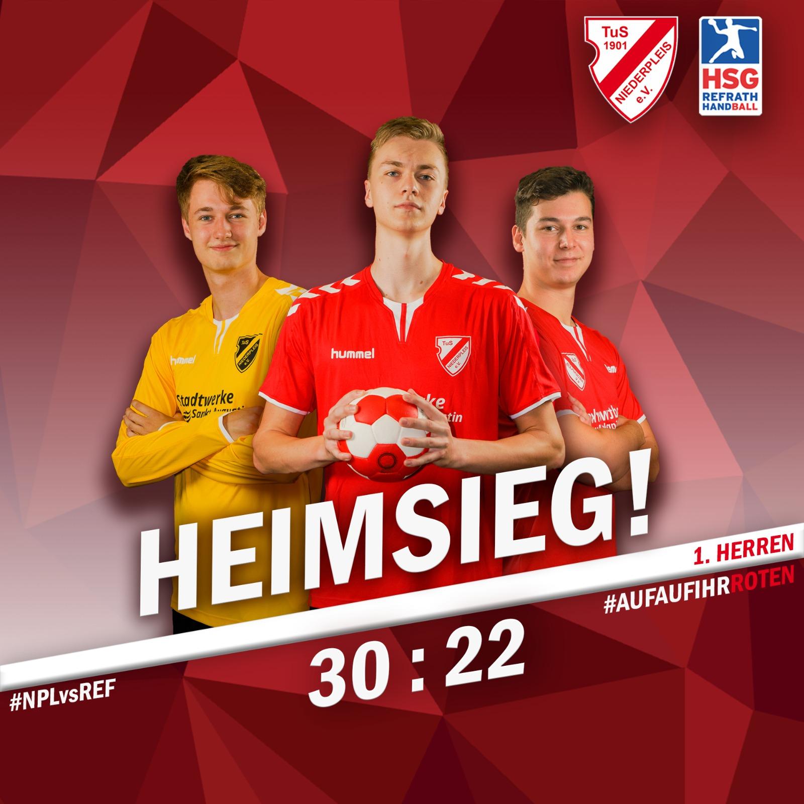 Erfolgreicher Saisonauftakt für unsere Landesliga-Herren!